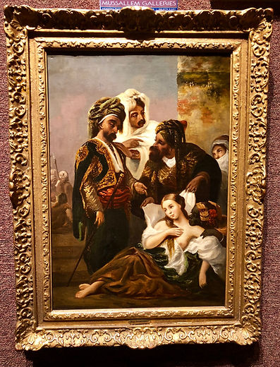 Eugene Delacroix, European Paintings