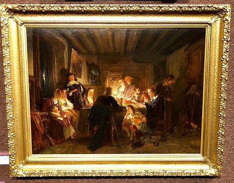 Family Evening By: Thomas Faed