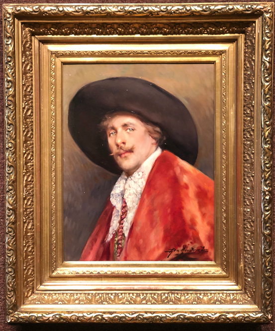 Cavalier in a Red Cape By: Alex de Andreis