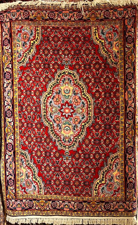 """3'7""""X5'4"""" Persian Bidjar"""