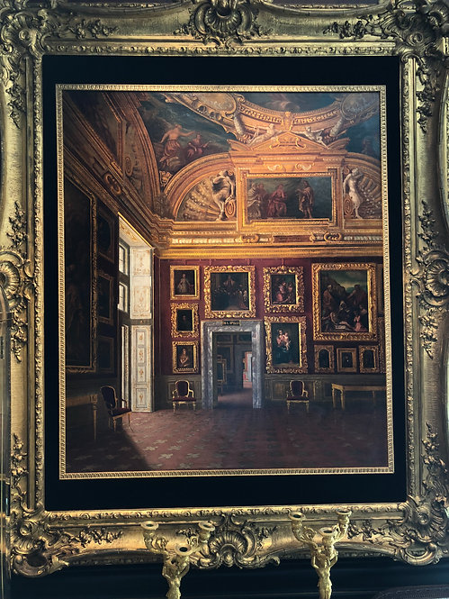 Antique Interior of Pitti Palace