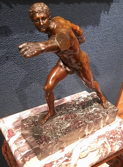 "Antique ""The Olympian"" Bronze"