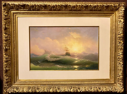 Luminous Seascape By: Ivan Aivazovsky