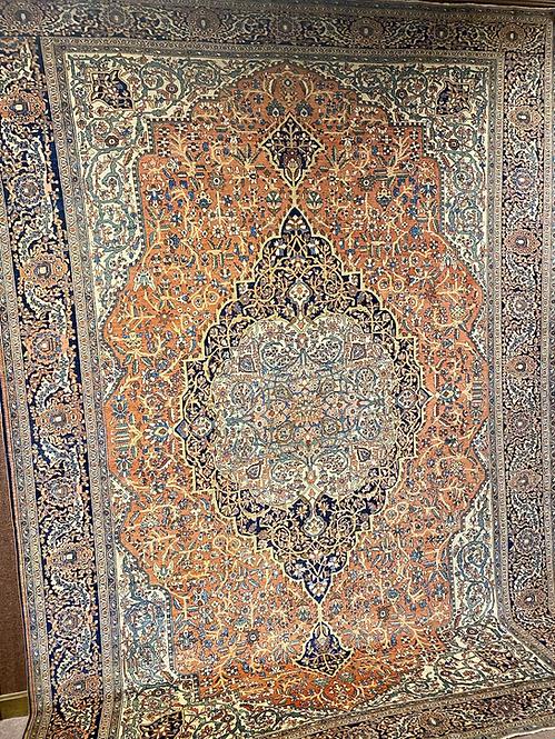 "10'6""X14'6"" Antique Persian Ferahan Sarouk"
