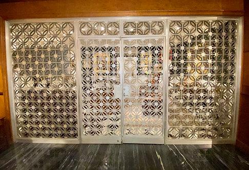 Art Deco Gates By Edgar Brandt