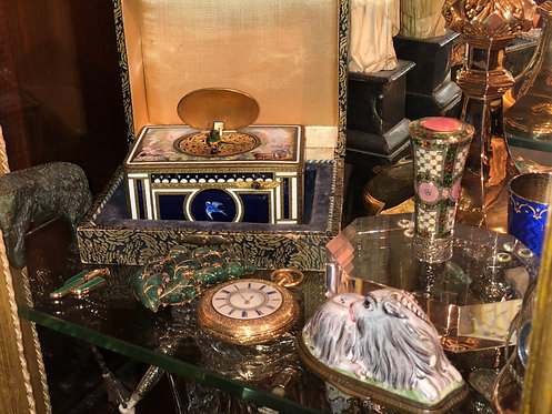 Assorted Antiques (Fabergé Cane Handle)