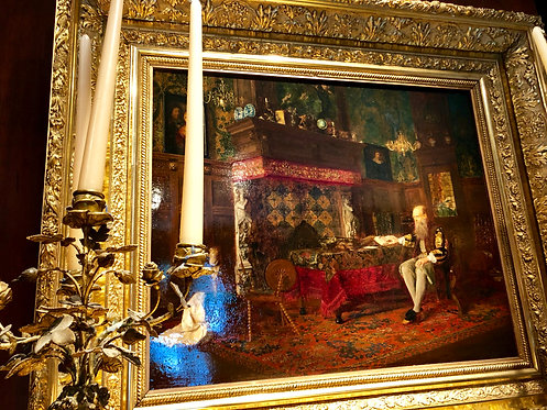 Antique Interior Painting