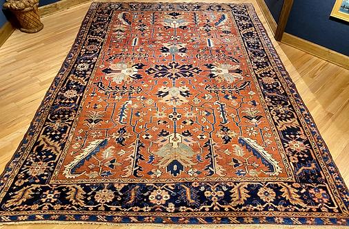 """8'2""""X11'4"""" Antique Persian Karaja/Serapi"""