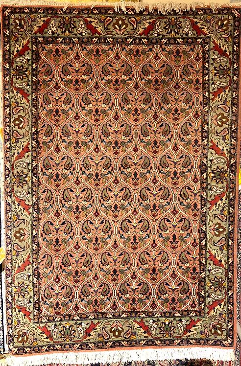 """3'4""""X4'10"""" Persian Tabriz"""