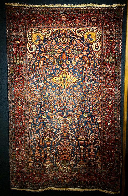 4.5x6.10 Antique Blue Keshan