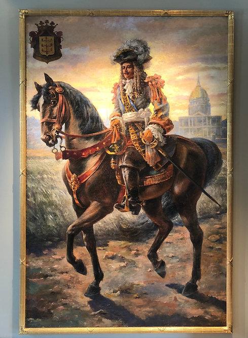 Very Large Portrait of Louis XIV