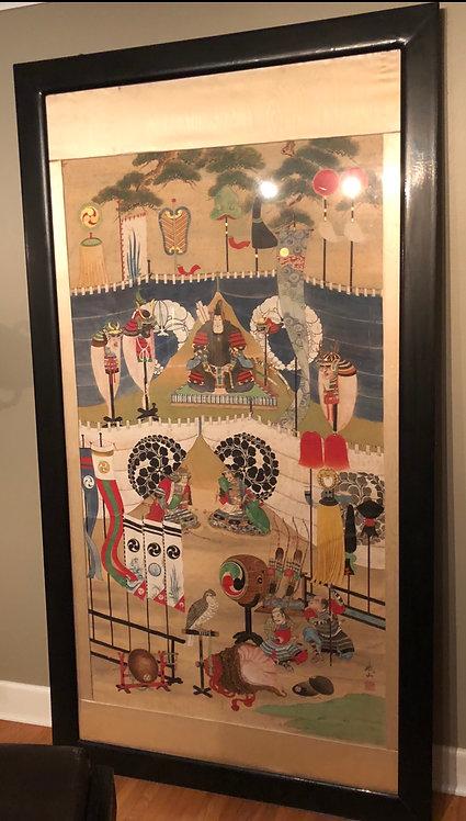 Japanese Edo Painting