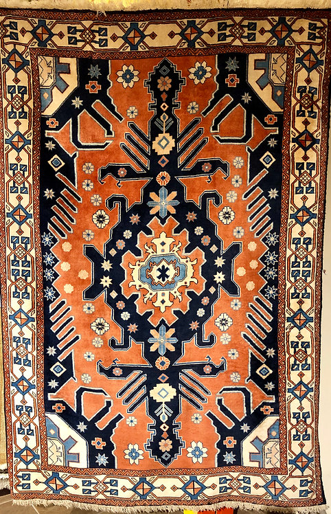 "4'2""X6'3"" Persian Blue Meshad"