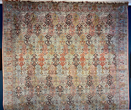 12'X18' Silk Kashmir Kerman
