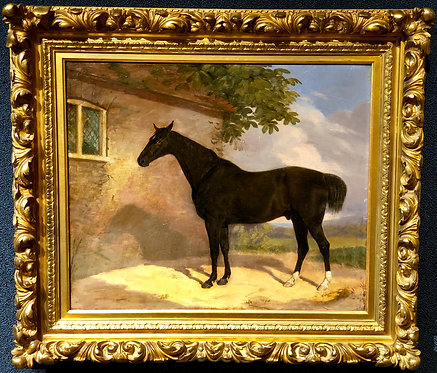 The Black Racehorse By: George Stubbs