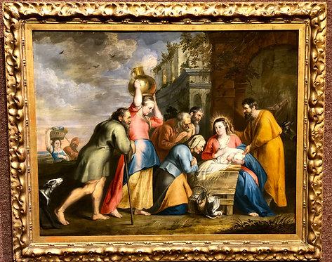 The Birth of Jesus, School of Peter Paul Rubens