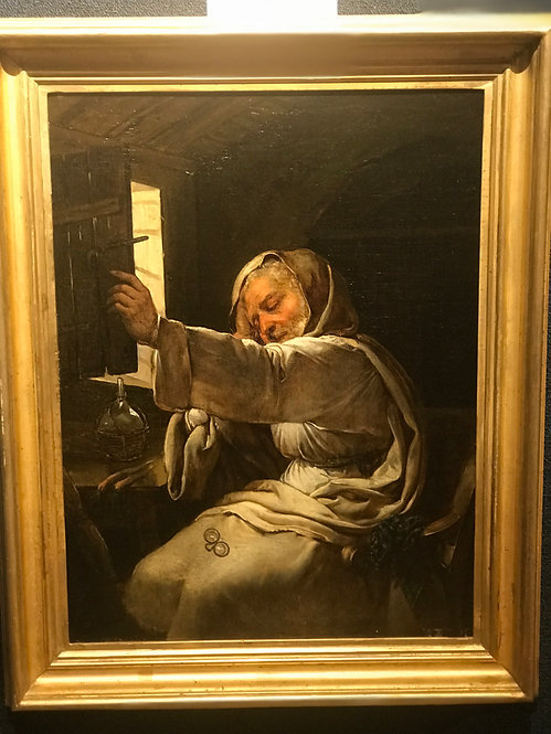 Monk in the Study by Fernando Cavalleri