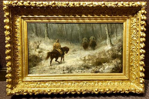 Christian Adolf Schreyer Painting