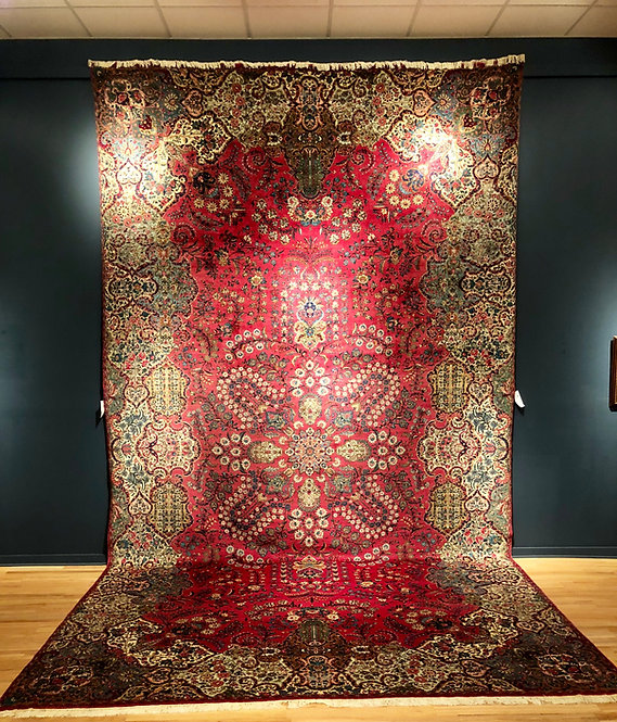 11'X20' Antique Persian Kerman
