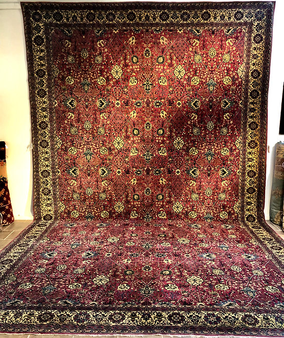 "14'3""X23'3"" Antique Manchester Keshan"