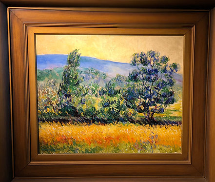 Impressionistic Landscape By: Francois Gaillard