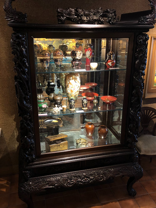 Oriental Cabinet (Mixed Antiques)