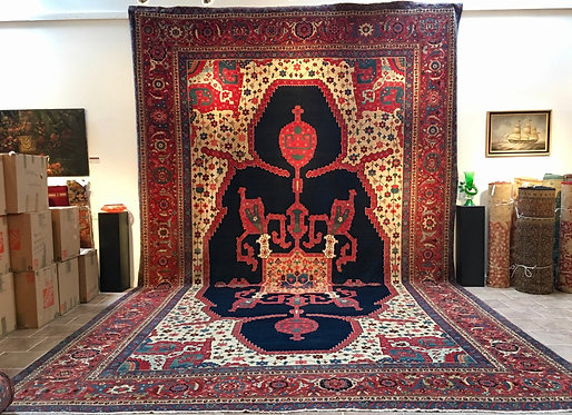 """15'4""""X25'4"""" Antique Persian Serapi"""