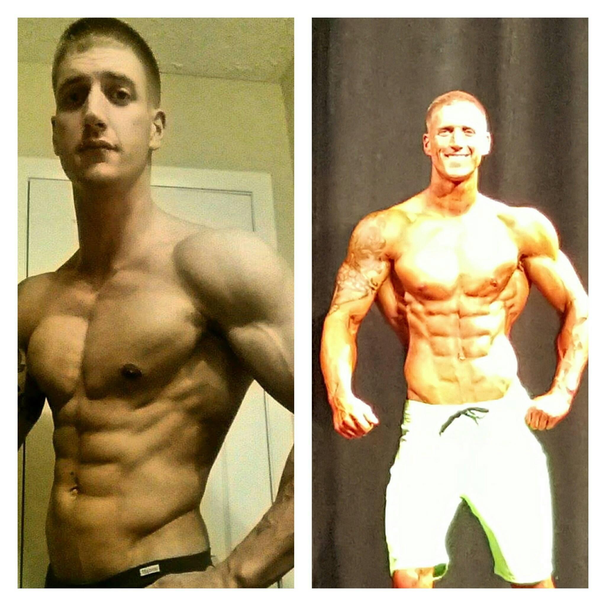 Brandon 8 Week Transformation