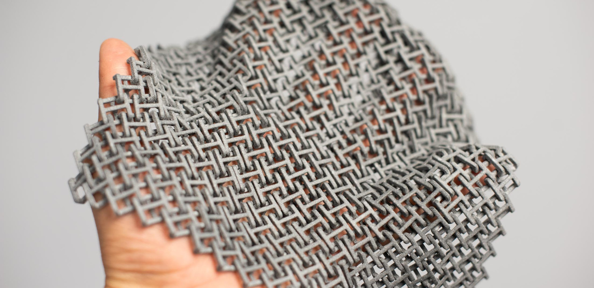 Chain mail before being dyed