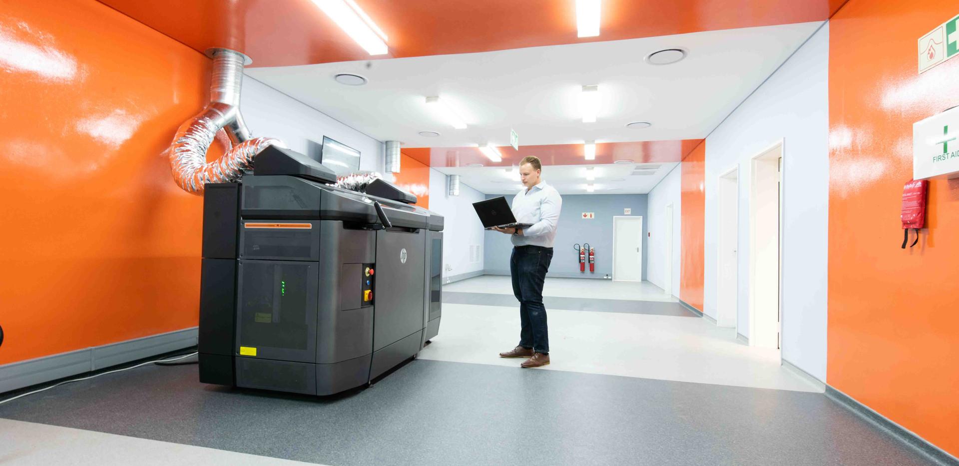 Mentis 3D - Printing Room