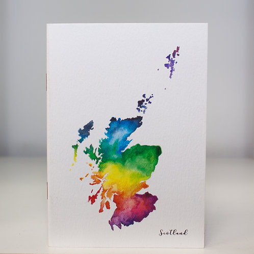 Scotland Notebook A5