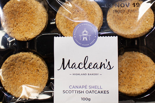 Canape Shell Scottish Oatcakes (MacLeans)