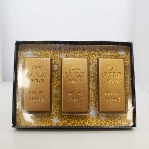 Chocolate Gold Bar Gift Set