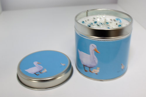 Jan Laird Art Candle