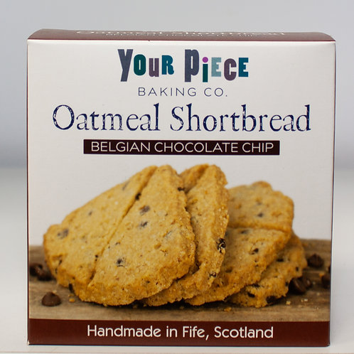 Oatmeal Shortbread - Belgian Chocolate Chip (Your Piece)