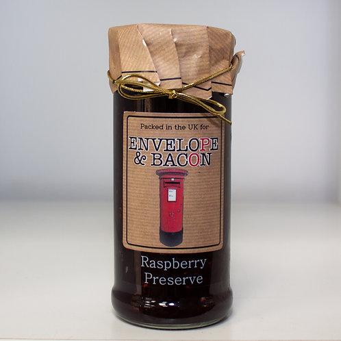 Envelope & Bacon Raspberry Preserve