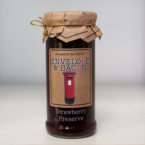Envelope & Bacon Strawberry Preserve