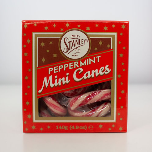 Mr Stanley's Peppermint Mini Canes
