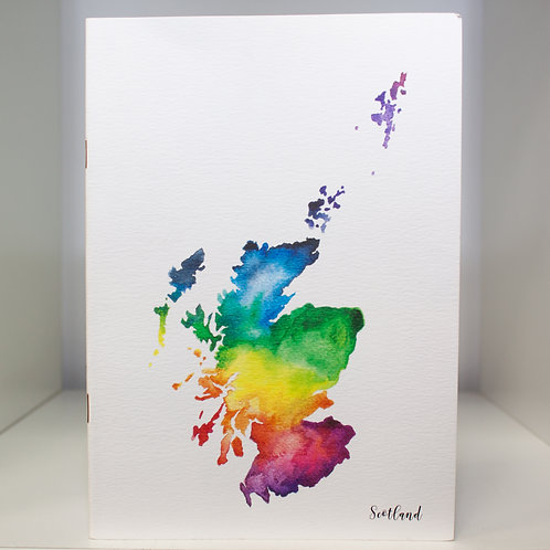 Scotland Notebook A6