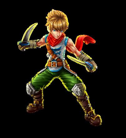 Phoenix, the hero of the game