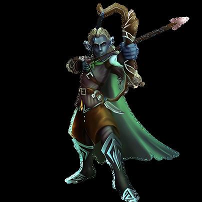 Kodiakk, the dark elf ranger