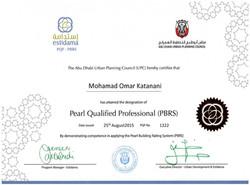 Estidama Pearl Qualified Professional