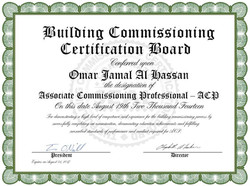 Building Commissioning Certification Board