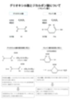 プレックスメント グリオキシル酸 ジカルボン酸 マレイン酸