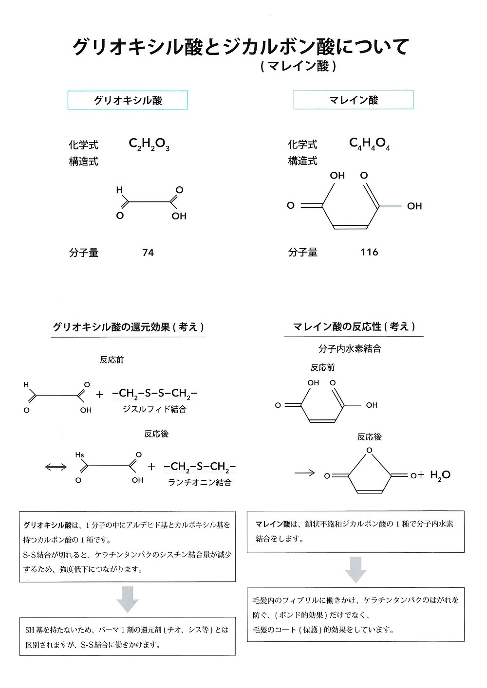 マレイン酸 ジカルボン酸