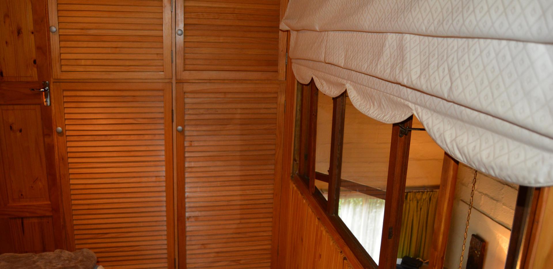 Twin bedroom view