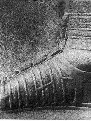 il famoso bassorilievo della caliga con