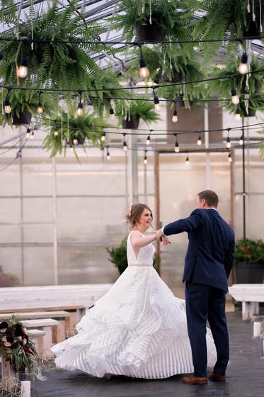 Greenhouse Wedding Dancers