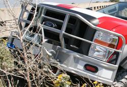 powder coating bumper fire truck manufacturing