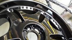 powder coating wheel